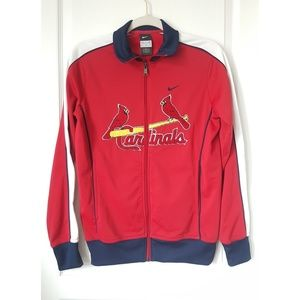 Nike St. Louis Cardninals Track Jacket Woman's M